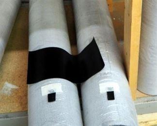 "CGPC America Corp. Enduratex, Mildew Resistant, Virgin Vinyl, 40 Yard Roll x 51"" Wide Qty 2 & 27"" Wide , Black Color"
