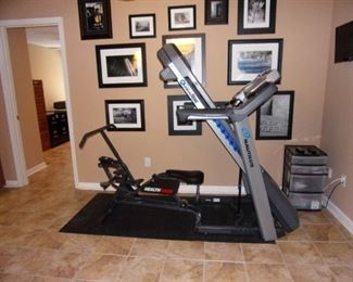 Nautilus folding treadmill-StrikeZone Impact Absorption System - The Nautilus T614 Treadmill is a popular and perfectly priced piece of exercise equipment for the home. SOLE has packed the T614 Treadmill with a lot of conveniences that make exercising enjoyable, like a media shelf and tons of programmed workout options. This top treadmill also provides connectivity to Nautilus Connect and MyFitnessPal so that you can track your workout performance. This is something else that few competitors provide. Don't forget also, that this is a Nautilus, a leader in quality exercise equipment for heavy fitness club use. A Nautilus T614 Treadmill in your home gym is going to last you a long, long time. New this is over $1,000 with assembly our price $275