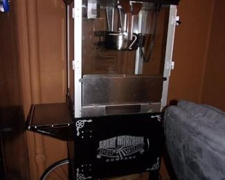 Great Northern Vintage theater popcorn cart