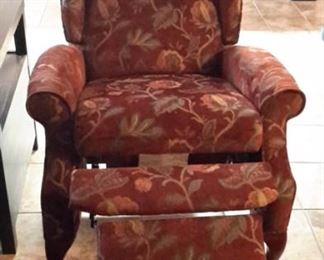 Lane upholstered recliners (2).