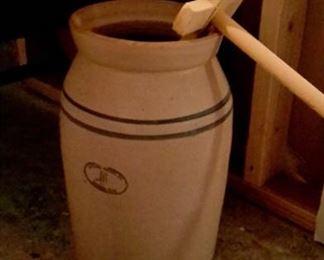 5 gallon Marshall butter churn.