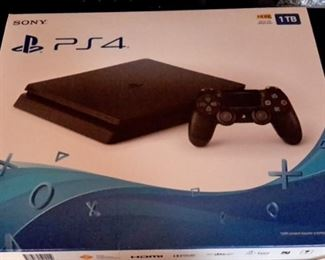 PS4 with box.