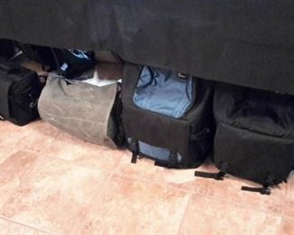Photography bags.