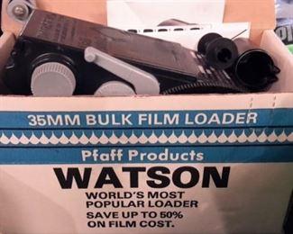 Vintage Watson 35MM Bulk Film Loader