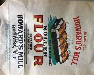 Paper Howard's mill sack