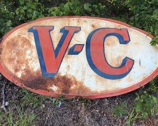 VC (Virginia Carolina fertilizer) sign
