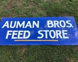 Auman bros feed store from Asheboro NC