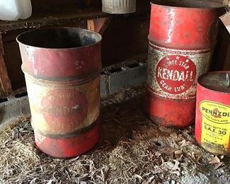 Kendall barrels