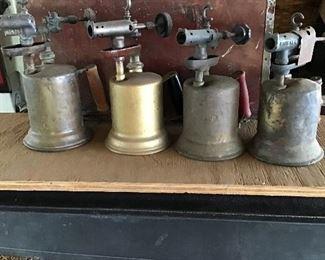 Brass torches