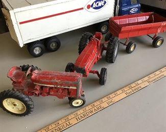 International tractors metal