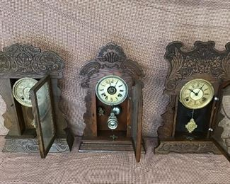 Clocks all have key