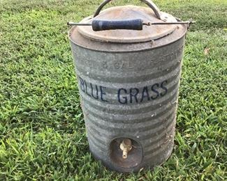 Nice bluegrass water cooler