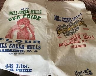 Local flour sacks