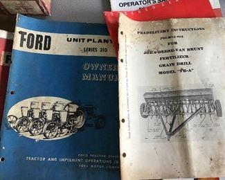 John Deere ford manuals