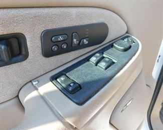 Electric everything and programmable/ automatic driver 1 and driver 2 seat and mirror adjustments.  Heated and vented seats.