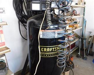 Craftsman 60gal compressor. 240v.