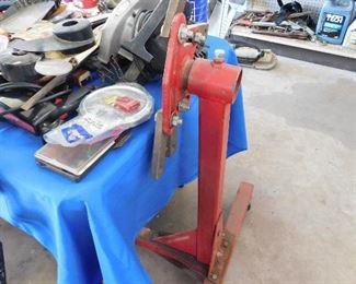 Engine work mount