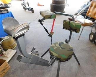 Rifle shooting stand