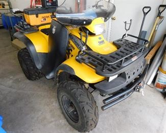 2001 Polaris with 600 miles. In like new condition. I drove this one around today, lots of fun! Comes with windshield, tool box and battery tender port already hooked up.
