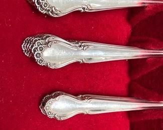 Rogers Bros 'Wedding Bells' sterling flatware