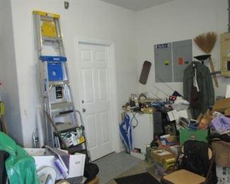 Inside Triple Garage