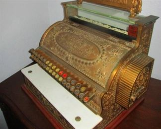 Antique cash register 1880s. Fully functional