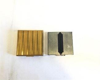 Vintage Powder Compacts 2 Piece https://ctbids.com/#!/description/share/209705