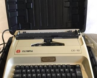Olympia CE-12 Electric Typewriter https://ctbids.com/#!/description/share/209766