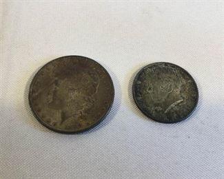 Silver U.S. Coins Morgan Kennedy https://ctbids.com/#!/description/share/209706