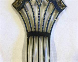 Antique/Vintage Jeweled Hair Comb https://ctbids.com/#!/description/share/209651