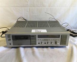 Yamaha Natural Sound Cassette Receiver KR-1000 https://ctbids.com/#!/description/share/209776