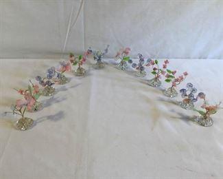 Antique French Glass Card Holders 12 Piece https://ctbids.com/#!/description/share/209656