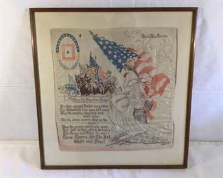Antique World War I Service Hanker chief https://ctbids.com/#!/description/share/209718