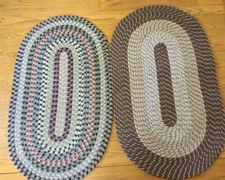 Two Braided Rugs Medium Size https://ctbids.com/#!/description/share/209468
