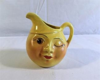 Vintage Vallona Starr Winky Face Creamer 1951 https://ctbids.com/#!/description/share/209660