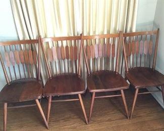 Four MCM Drexel Declaration Chairs by Kip Stewart   https://ctbids.com/#!/description/share/209784
