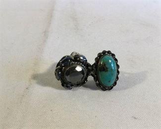 Sterling Rings Vintage 2 Piece https://ctbids.com/#!/description/share/209722