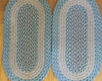Two Braided Rugs Matching Vintage https://ctbids.com/#!/description/share/209552