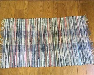 Handmade Striped Rug Vintage https://ctbids.com/#!/description/share/209593