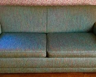 MCM Azure Blue Sofa Sleeper Vintage Slumb https://ctbids.com/#!/description/share/209607