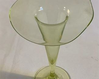 Vintage Green Glass Candy Dish Set (6Pcs) https://ctbids.com/#!/description/share/209804