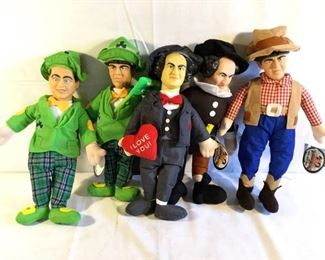 The Three Stooges Official Licensed Plush Doll (5Pcs) https://ctbids.com/#!/description/share/209611
