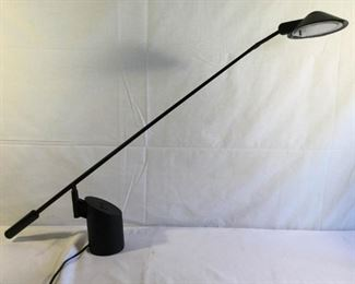 Kovacs Robert Sonneman Feather Desk Lamp 1980s https://ctbids.com/#!/description/share/209732
