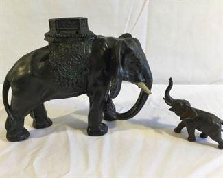 Elephant and Baby(2Pcs) https://ctbids.com/#!/description/share/209674