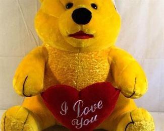 Big ''I Love You'' Bear by Big T Toys https://ctbids.com/#!/description/share/209616
