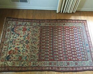 Antique Handmade Flat Weave Wool Rug https://ctbids.com/#!/description/share/209736