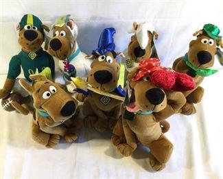 Scooby doo Assorted Plush Dolls, Cartoon Network by Toy Network (7Pcs) https://ctbids.com/#!/description/share/209618