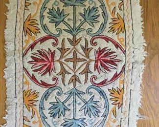 Kashmir Handmade Namdha Rug      https://ctbids.com/#!/description/share/209620