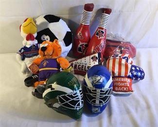 Sports Plush Items (10Pcs) https://ctbids.com/#!/description/share/209627