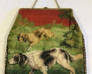 Rare 1950's Bobbie Jerome Tapestry Bag/Purse https://ctbids.com/#!/description/share/209632